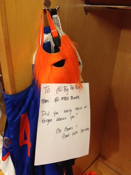 Pat's locker