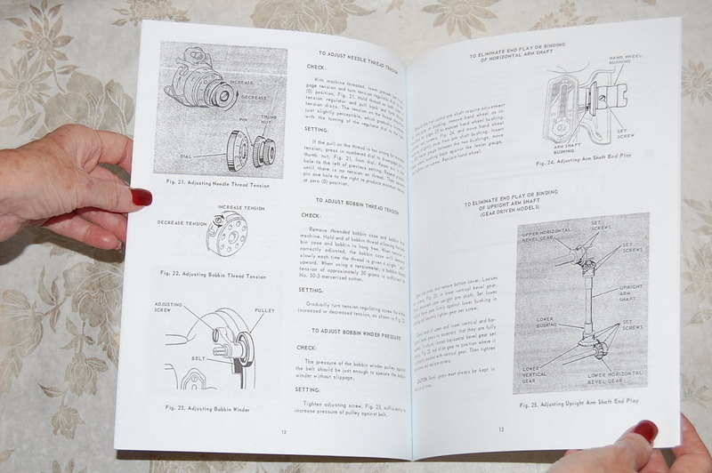 Professional Service Manual For Singer Featherweight 221