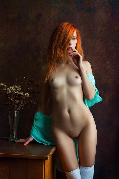 голая рыжая фото