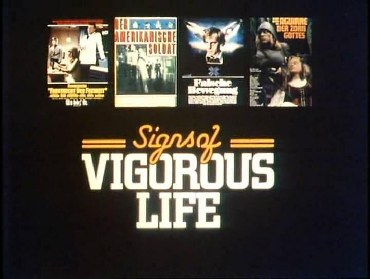 fdls BBC   Signs of Vigorous Life New German Cinema (1976)