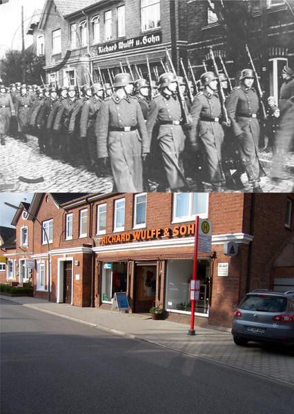 Concentratiekamp neuengamme foto 39 s - Een gang ingang ...