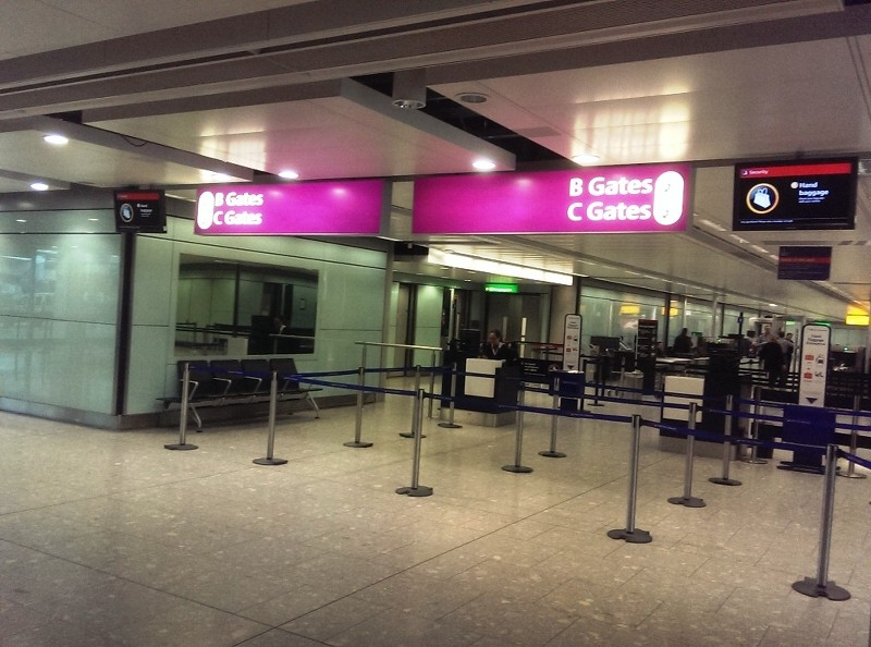 LHR Terminal 5B Flight Connections - a pictorial guide - including ...