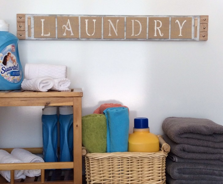 Decorar el laundry