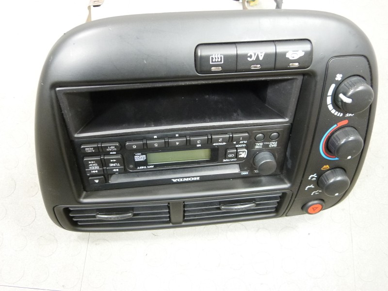 99 00 honda civic cd player radio surround climate control. Black Bedroom Furniture Sets. Home Design Ideas