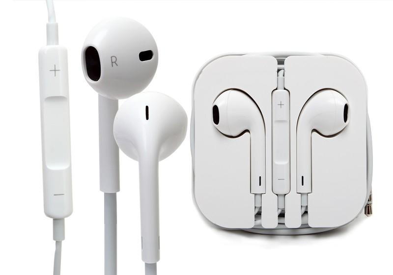 Original iphone earphones by apple - apple earphones black