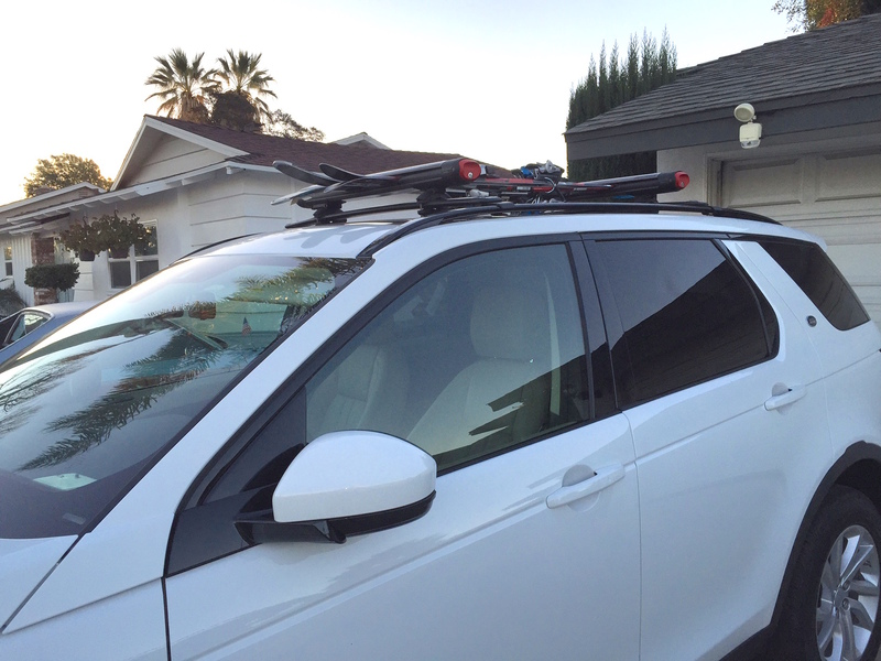 Weekend Project Roof Rails Installed With Rola Cross Bars Land Rover Discovery Sport Forum