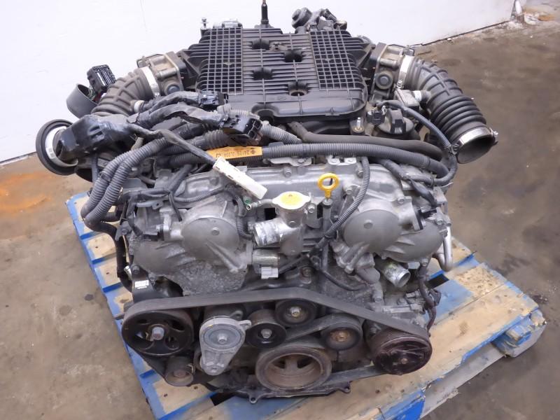 08 g37 370z vq37vhr engine motor 6 speed transmission complete liftout 53k a ebay. Black Bedroom Furniture Sets. Home Design Ideas