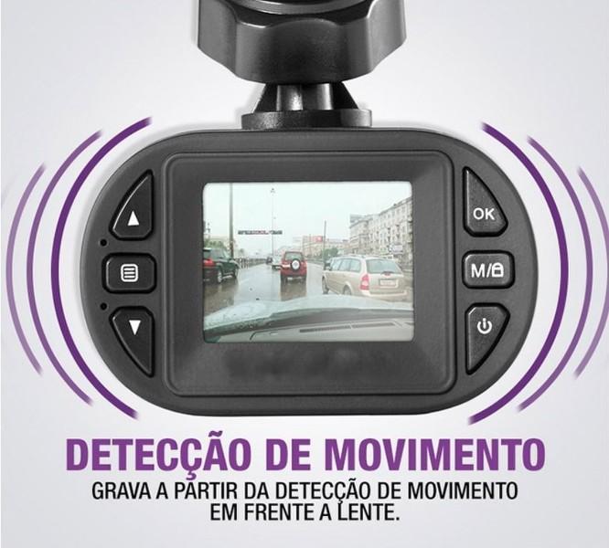 Camera Filmadora Carro Veicular Segurança Full HD Led Noite