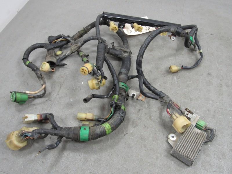 90 91 honda crx si d16a6 obd0 mpfi engine wire wiring harness c ebay