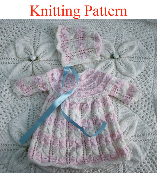 Baby Double Knitting Patterns : Knitting pattern for 15 - 18