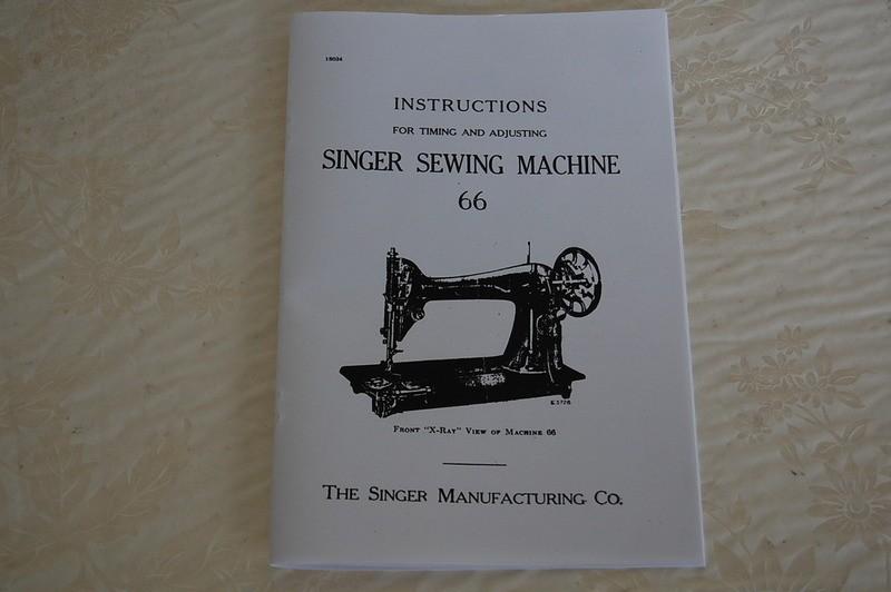 singer sewing machine timing