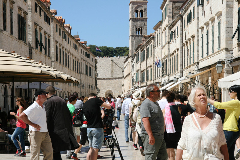 dubrovnik photos old town spring 2016 vacation croatia hrvatska placa ulica main street