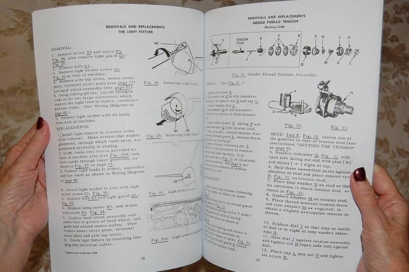 Professional Full Edition Service Manual Singer 327 327k 328 328k Sewing Machine