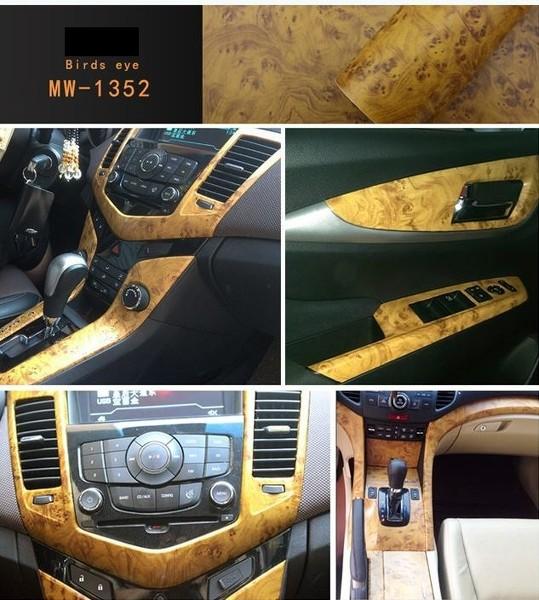 Pellicola adesiva effetto legno marrone mobili cruscotto for Pellicola adesiva mobili