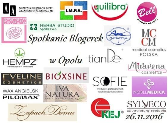 sponsorzy spotkania blogerek w Opolu