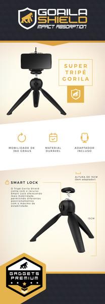 Tripe Gorila Shield Apple Microsoft Nokia Motorola Samsung acessórios