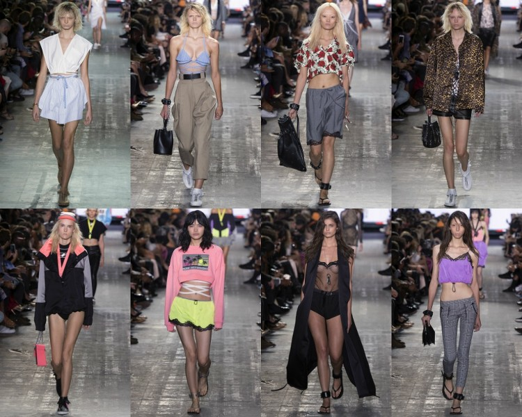 alexander wang fashion week new york fashion show spring summer SS17