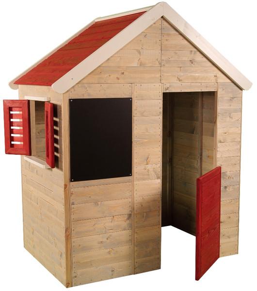 kinderspielhaus mit rutsche gartenhaus spielhaus f r. Black Bedroom Furniture Sets. Home Design Ideas
