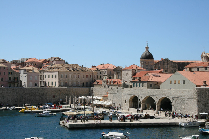 dubrovnik photos old town spring 2016 vacation croatia hrvatska harbour port sea