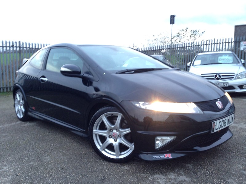 2008 honda civic type r gt black fn2 ebay. Black Bedroom Furniture Sets. Home Design Ideas