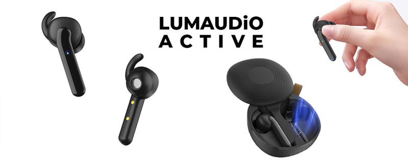Casti Bluetooth LumAudio® Active, Wireless,cu Microfon- Negru