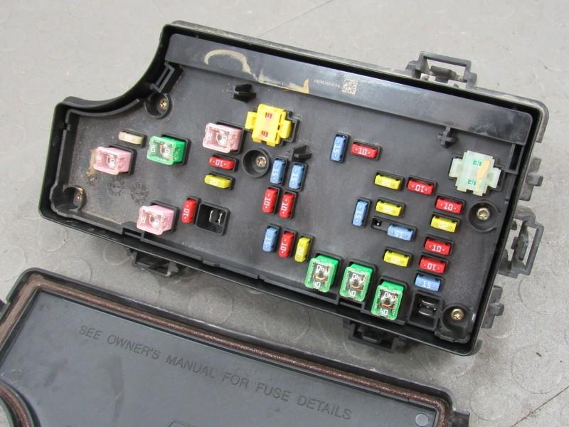07 Caliber Patriot Compass TIPM Integrated Power Module