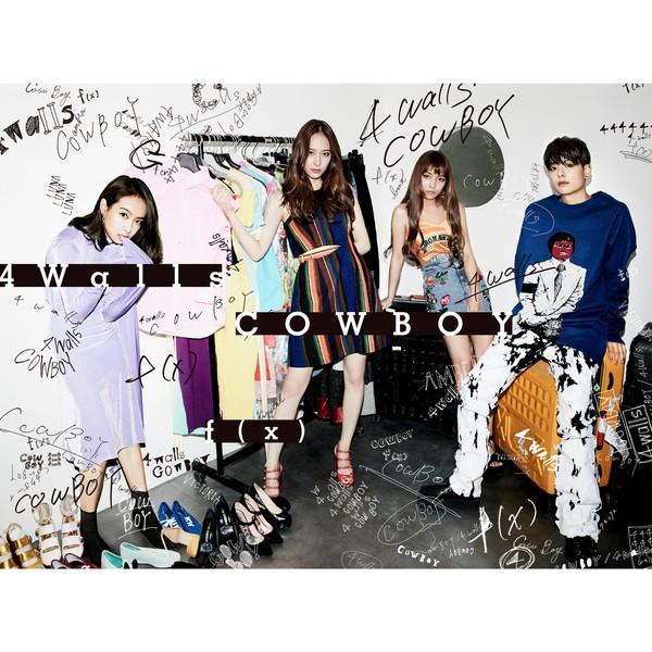 f(x) - 4 Walls / Cowboy (Japanese Single) K2Ost free mp3 download korean song kpop kdrama ost lyric 320 kbps