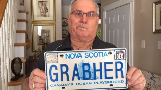 Lorne Grabher Plate