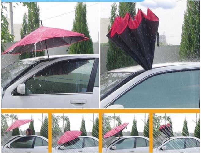 Ombrello al contrario reversibile rovesciato invertito pioggia auto casa novita ebay - Casa al contrario ...
