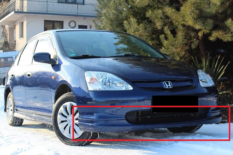 honda civic type r look 2001 2005 body kit new ebay. Black Bedroom Furniture Sets. Home Design Ideas