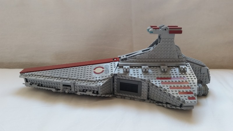 MOD] 8039 Venator-Class Republic Attack Cruiser - LEGO Star Wars ...
