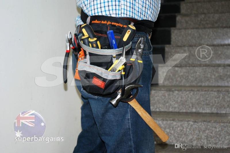 Borsa multitasche cintura gancio porta attrezzi da lavoro - Porta metro da cintura ...