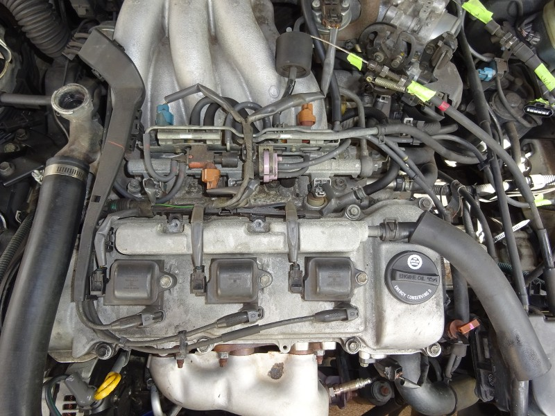1998 Camry V6 1mzfe - Top End Work  Spark Plugs  Knock Sensor  Bypass Hose  Etc
