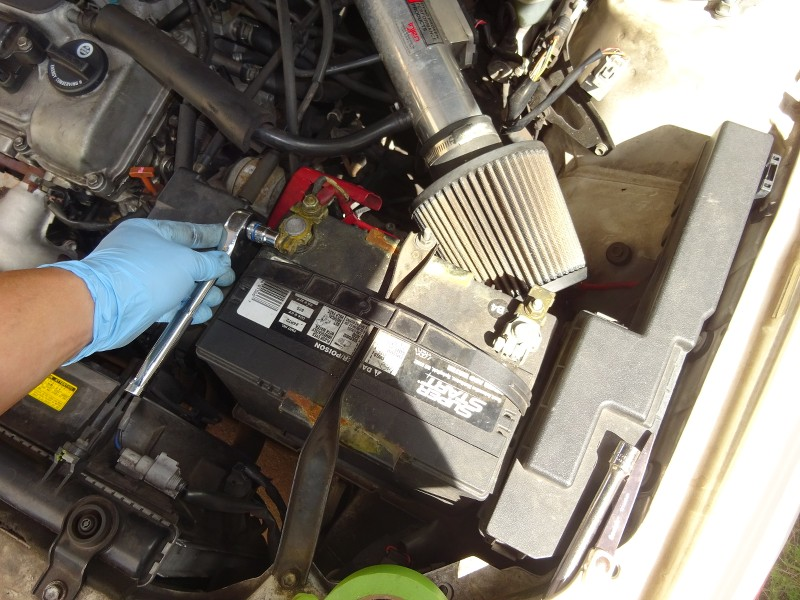 1998 Camry V6 1mzfe - Top End Work  Spark Plugs  Knock Sensor  Bypass Hose  Etc