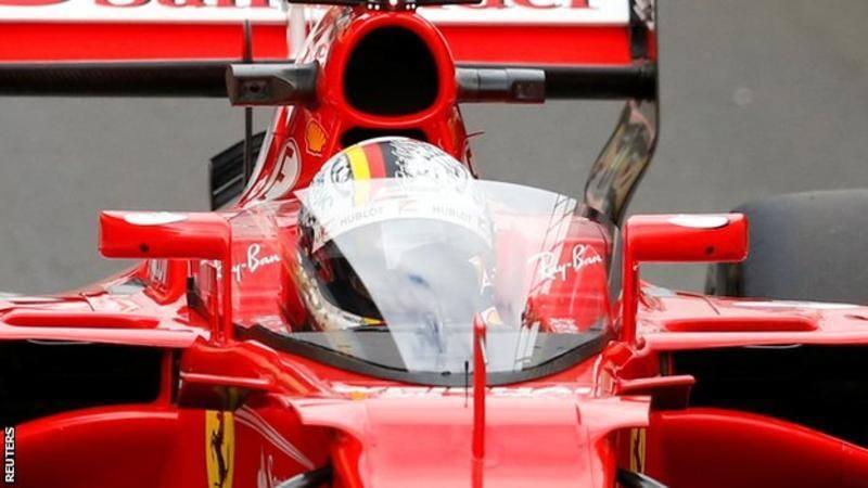 F1 2017 British GP Sebastian Vettel Shield