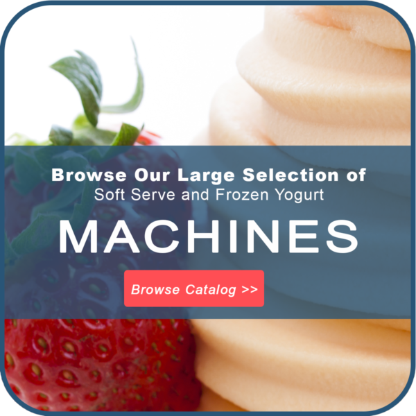 Frozen Yogurt Soft Serve Machines