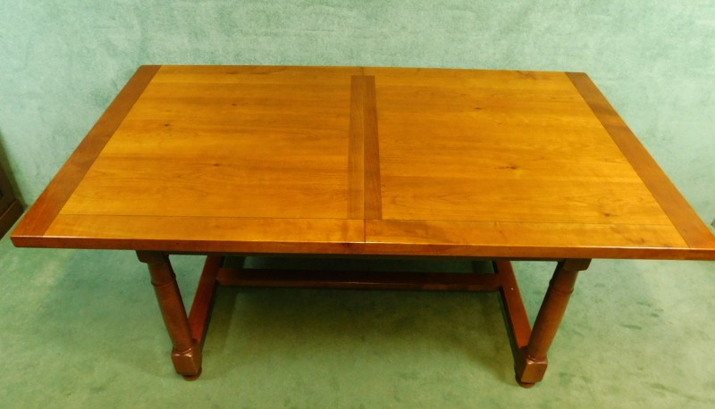 cherry dining table six chairs by grange fine furnitu
