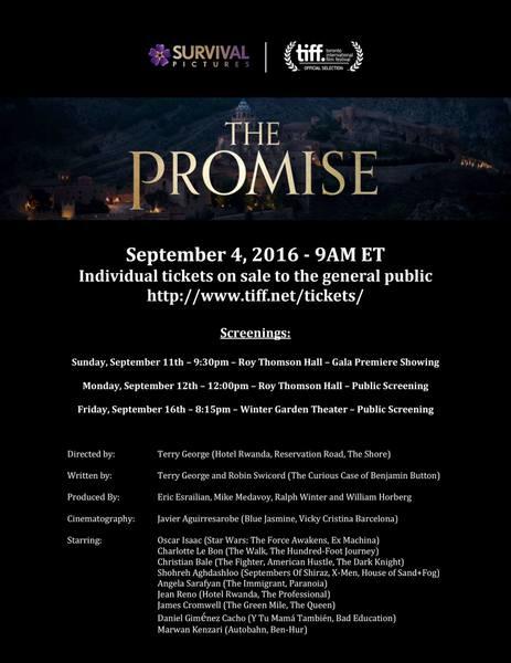 Serj Tankian compõe música para o filme 'The Promise'