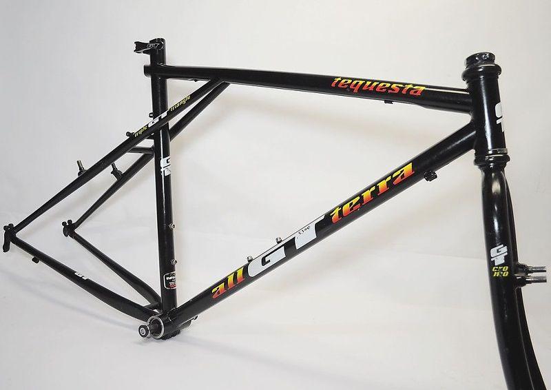GT triple triangle frame thread
