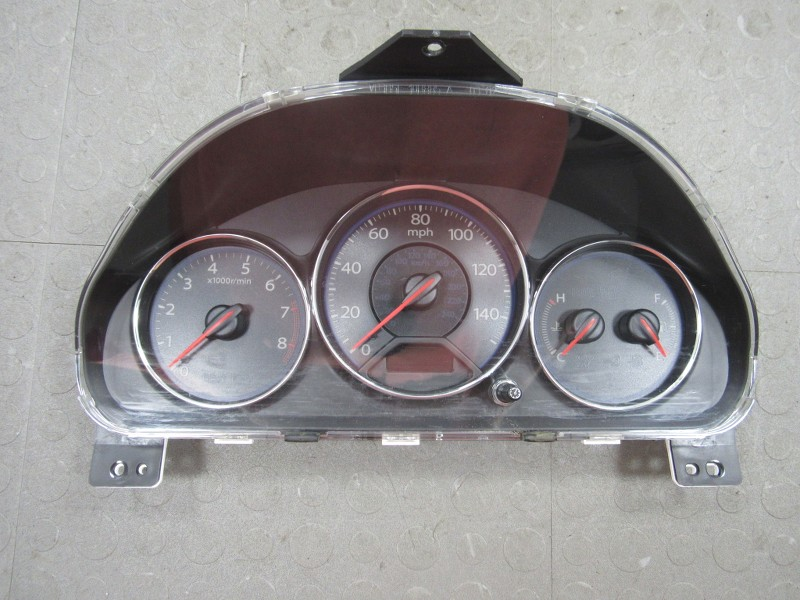 03 05 honda civic ex 4 door mt instrument gauge cluster for 03 honda civic 4 door