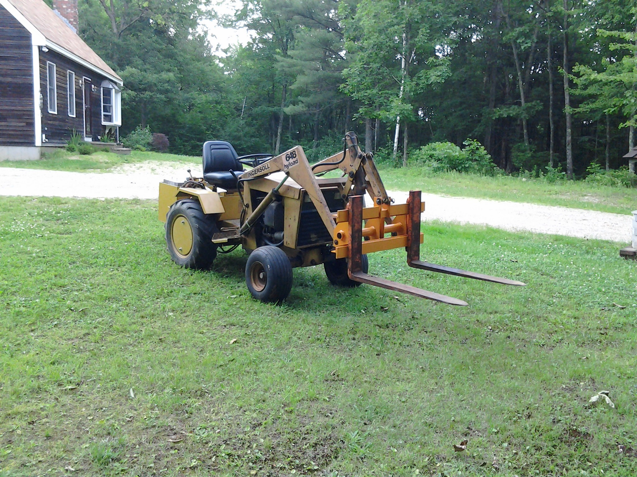 Homemade Tractor Bumper : Your attachments homemade or factory page mytractorforum the friendliest tractor