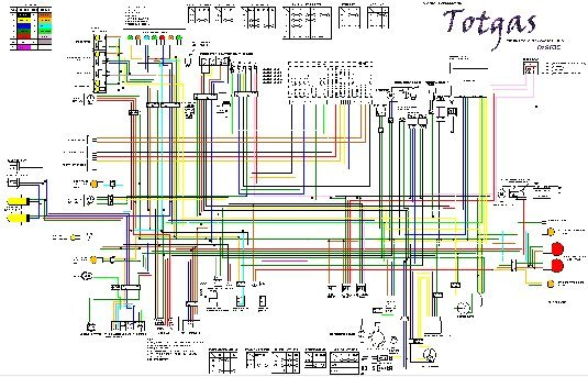 St1100p Colour Wiring Diagram