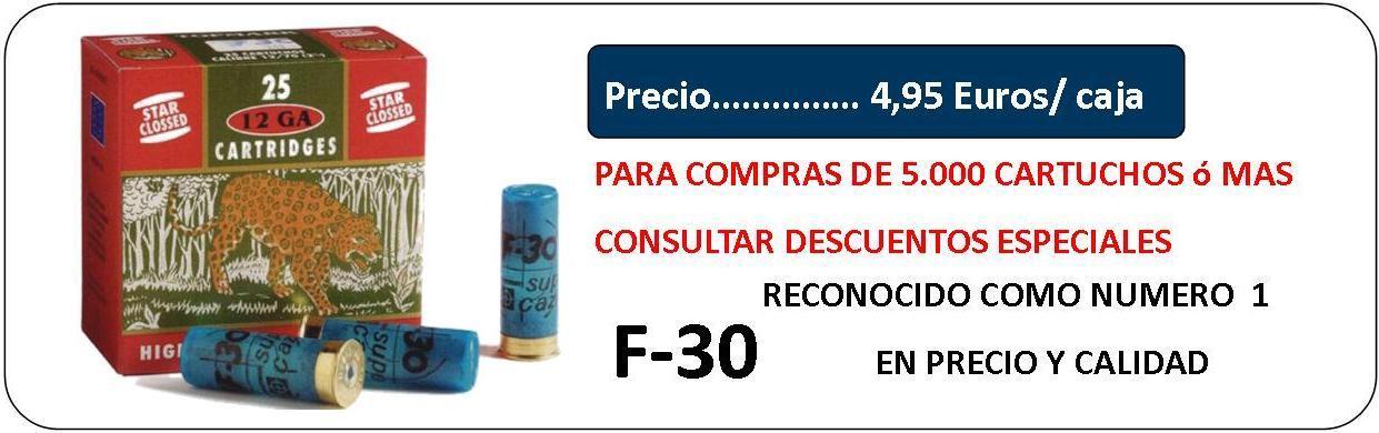 CARTUCHOS F-30