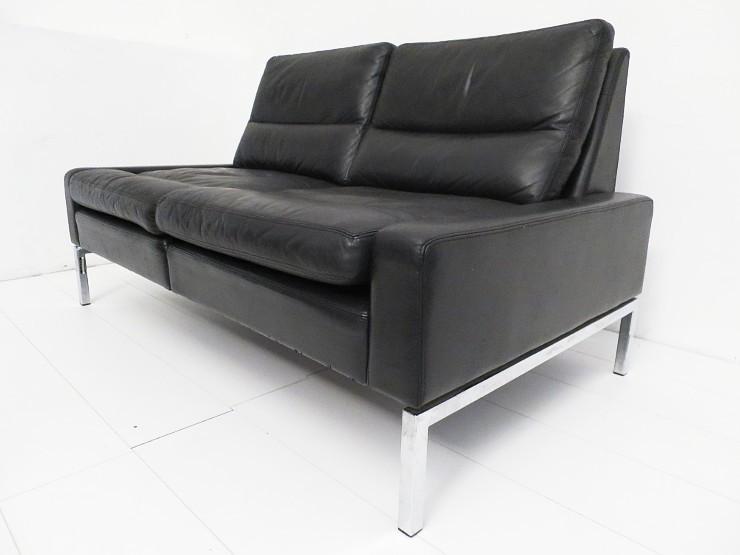 peter piehl f r wilkhahn zweisitzer sofa ohne armlehnen 60er 70er space age ebay. Black Bedroom Furniture Sets. Home Design Ideas