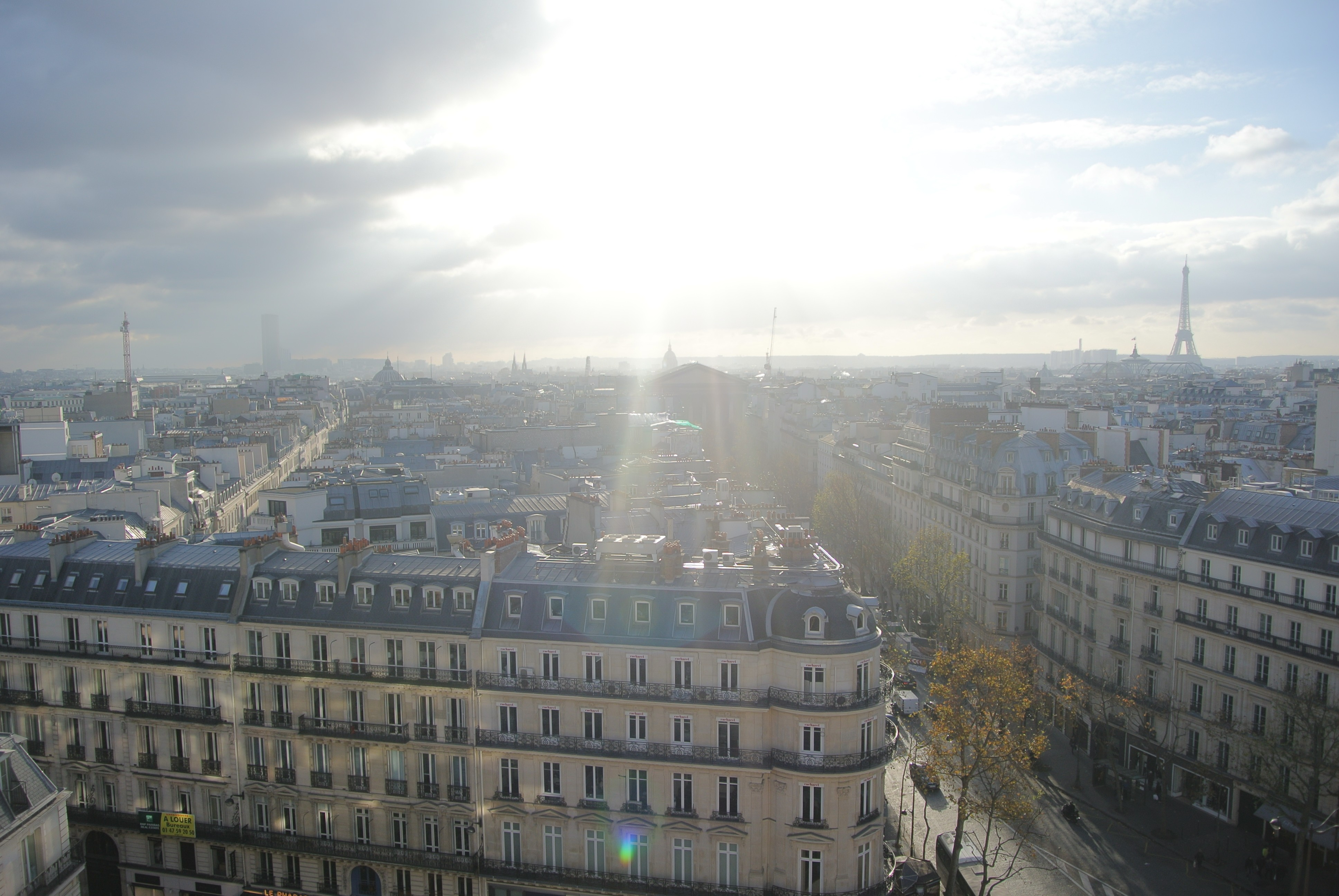 View of Eiffel Tower and Paris | Todd's Travels Travel Blog