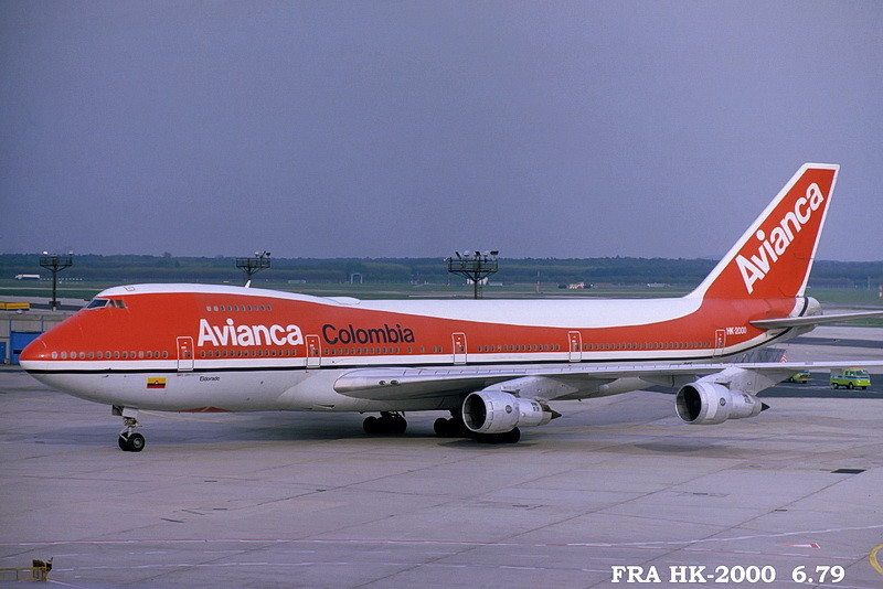 avianca in fra fotos historische aufnahmen und fra. Black Bedroom Furniture Sets. Home Design Ideas