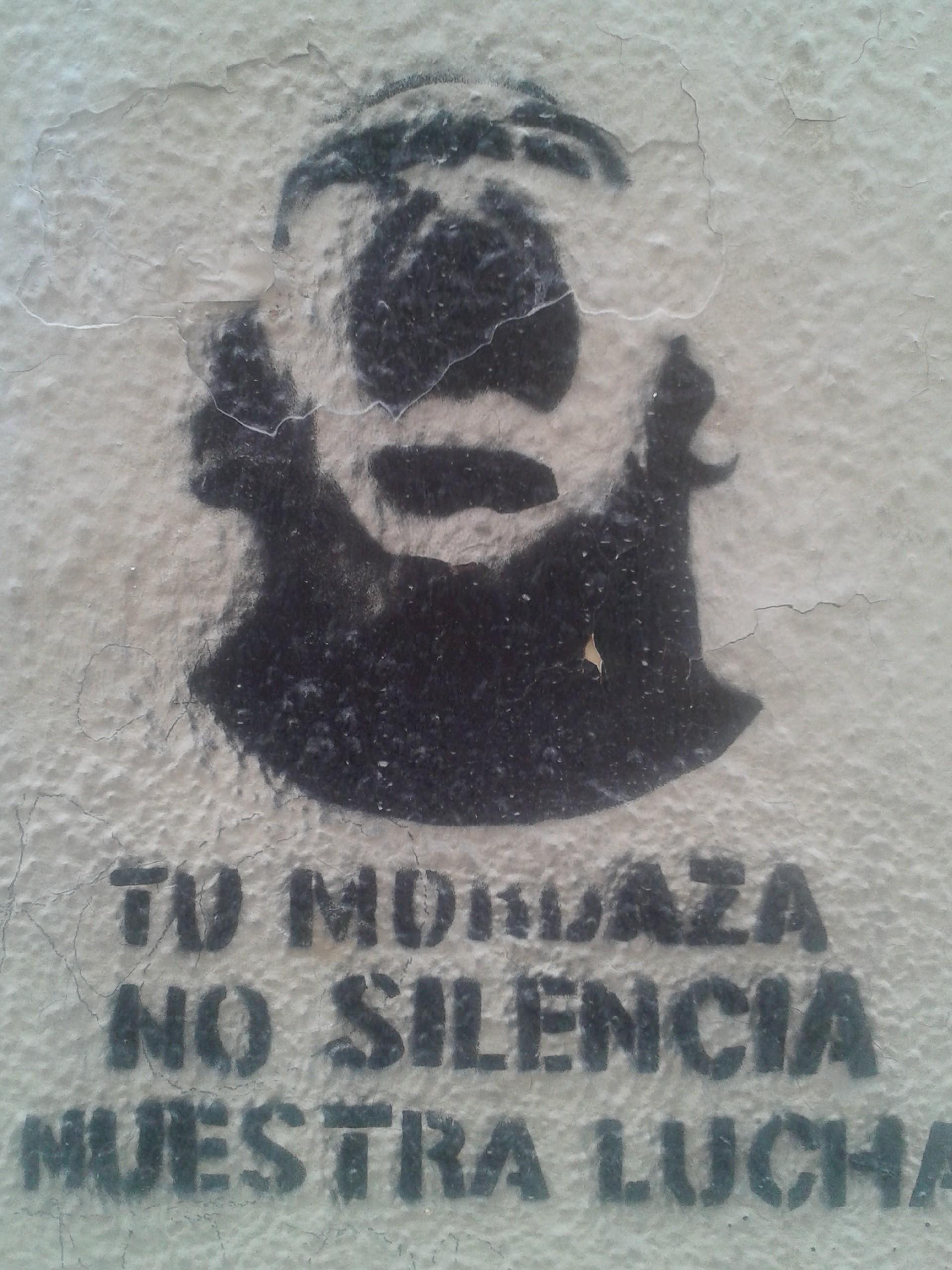 Graffiti tag, Malaga | Todd's Travels Travel Blog