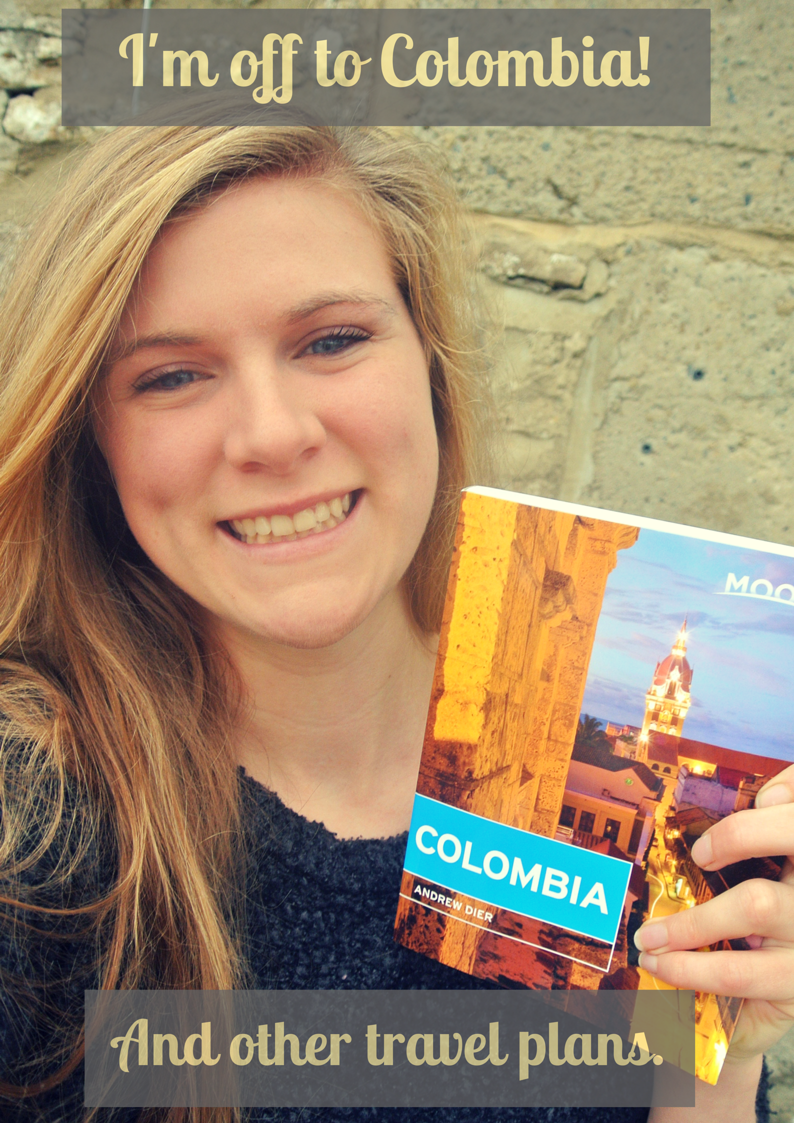 Great news, I'm off to Colombia in 2015!