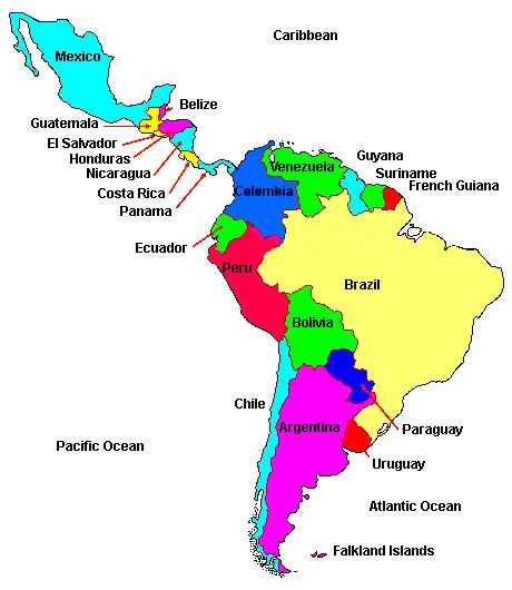 Religion And Morality In Latin America Maps - Religion maps us