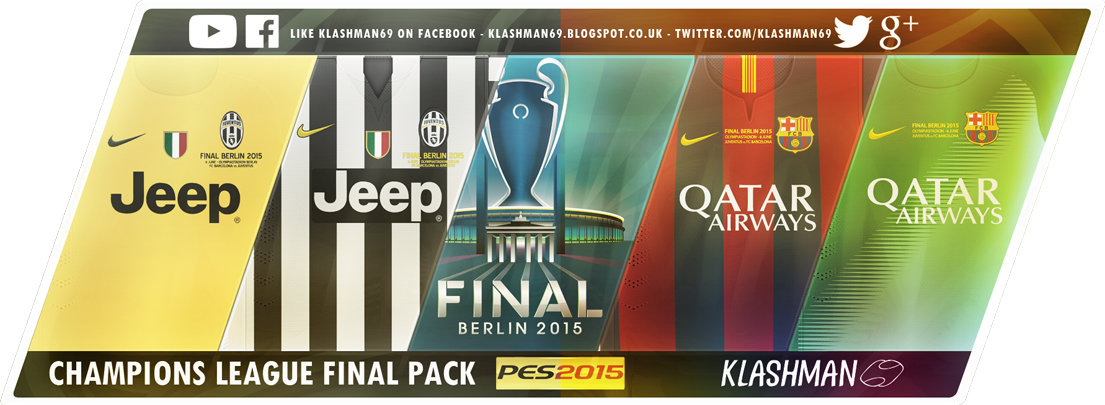 Download Champions League Final Kit Pack .CPK